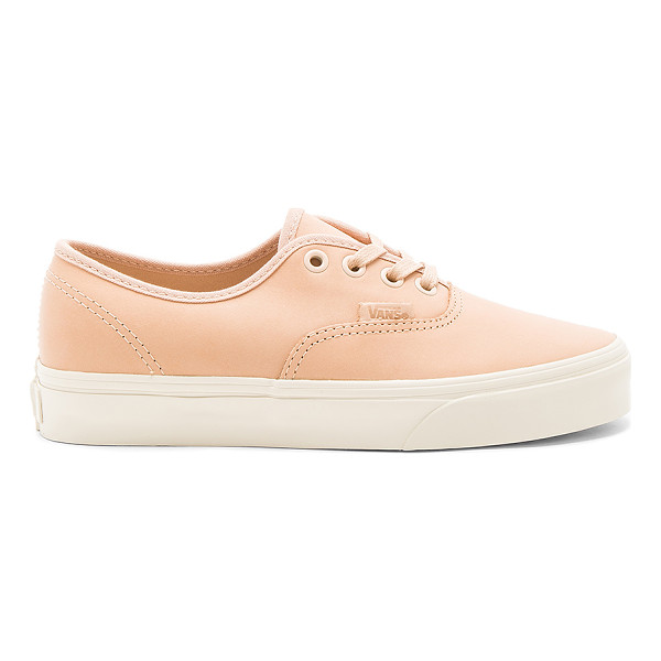 VANS Authentic DX Sneaker - Leather upper with rubber sole. Lace-up front. VANX-WZ172.