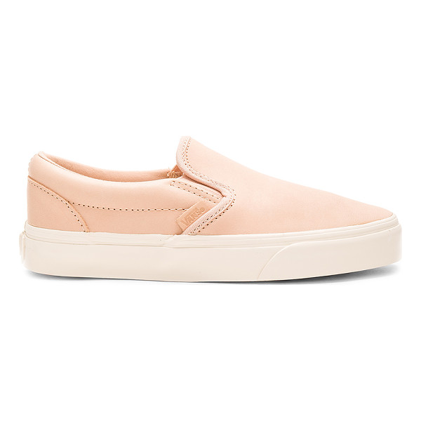 VANS Classic Slip On DX Sneaker - Leather upper with rubber sole. Slip-on styling. Vans ships...