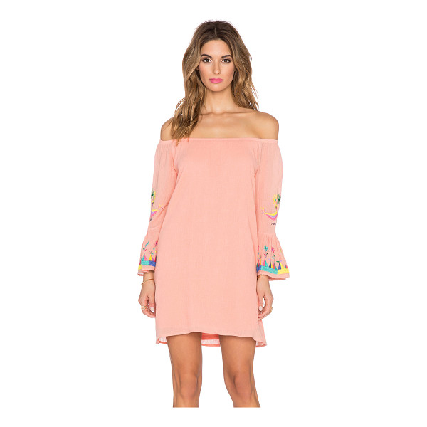 VAVA BY JOY HAN Dottie off the shoulder dress - Shell & Lining: 100% poly. Dry clean only. Lined....