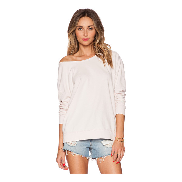 VELVET BY GRAHAM & SPENCER Active jess top - 100% cotton. Elbow patch detail. Intentionally distressed...