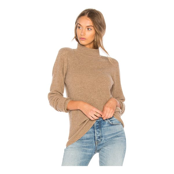 VELVET BY GRAHAM & SPENCER Bailee Turtle Neck Sweater - Cashmere blend. Dry clean only. Rib knit fabric....