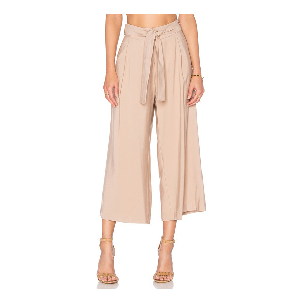 VIKTORIA + WOODS Vargo Culotte - 54% bamboo 27% viscose 19% poly. Hand wash cold. Front...