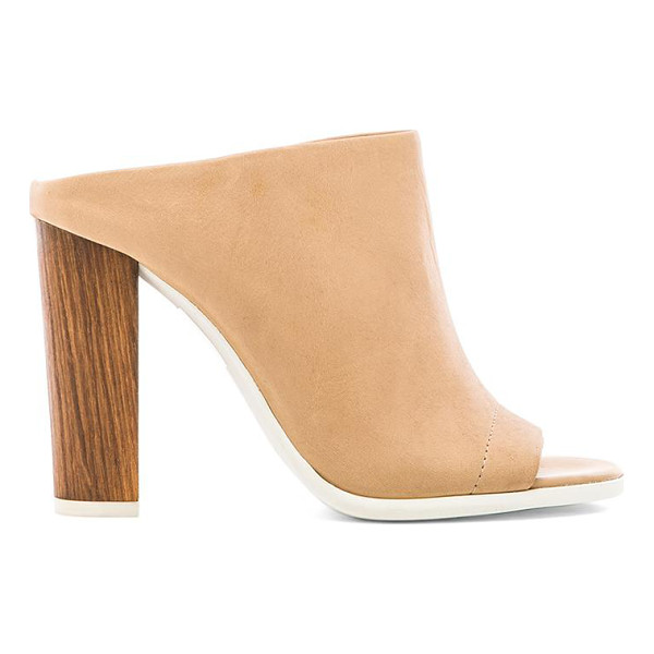VINCE Allison heel - Leather upper with man made sole. Heel measures approx...