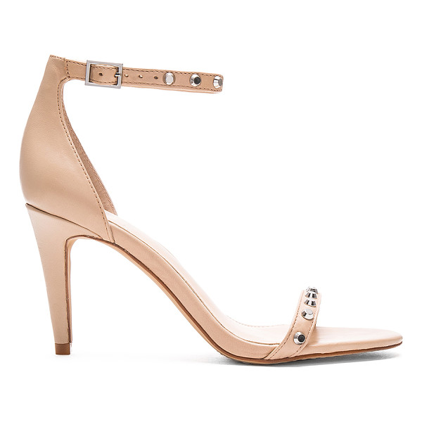 VINCE CAMUTO Cassandy Heels - Leather upper with man made sole. Ankle strap with buckle