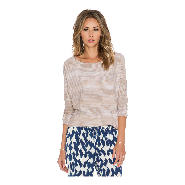 VINCE Spacedye boatneck top - 100% cotton. VINCE-WS786. V2645 76083. Founded in 2011,...