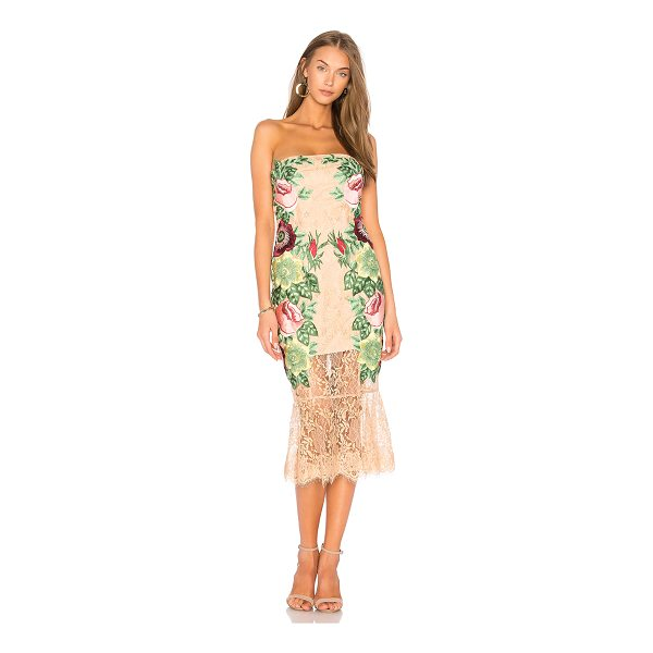 """VONE Roya Dress - """"Poly blend. Dry clean only. Fully lined. Padded bust...."""