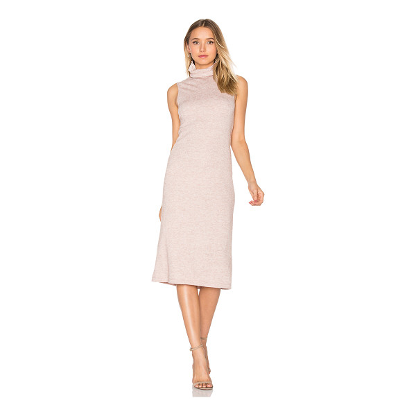 WAYF Cast Away Knit Dress - 85% poly 15% rayon. Dry clean only. Unlined. WAYF-WD87.