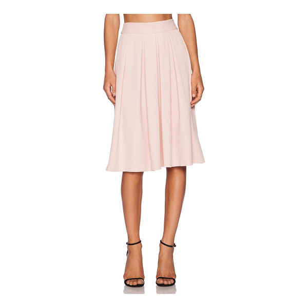WAYF Pleated midi skirt - 94% poly 6% spandex. Dry clean only. Skirt measures approx...