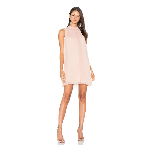 WAYF Sugar Dust Ruffle Dress - Self & Lining: 100% poly. Dry clean only. Fully lined.