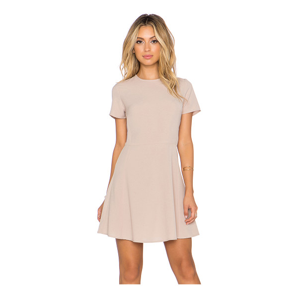 WAYF x REVOLVE Short Sleeve Dress - 92% poly 8% spandex. Dry clean only. Unlined. Back hidden...