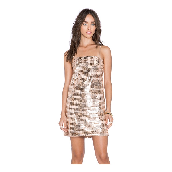 WHITNEY EVE Escalante dress - Poly blend. Hand wash cold. Fully lined. Sequined...