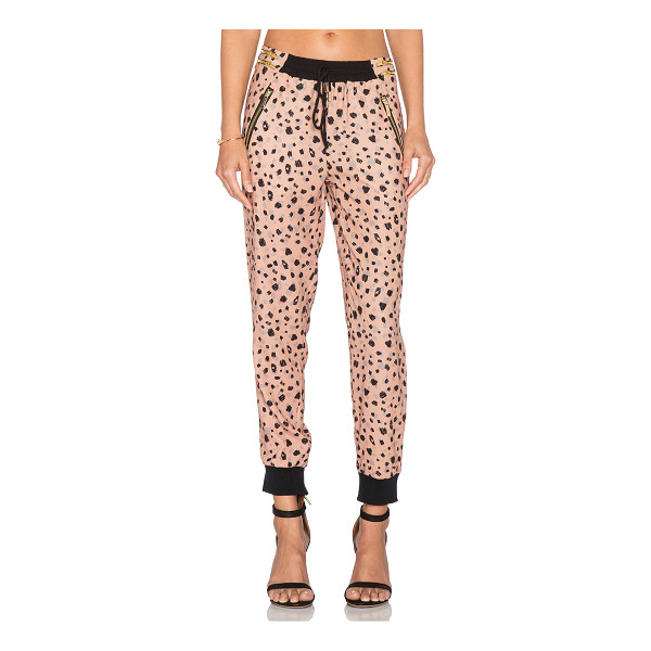 WHITNEY EVE Glass beach pant - 100% poly. Dry clean only. Elasticized drawstring waist....