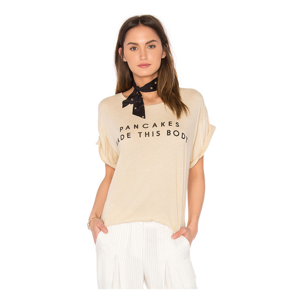 WILDFOX Grand Slam Tee - Modal blend. Hand wash cold. Screen print graphics. Jersey...