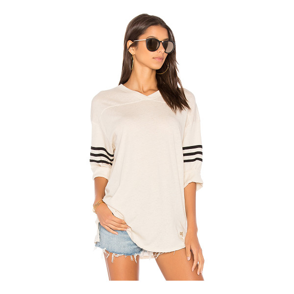 WILDFOX Long Sleeve Tee - Borrowed from the boys but clearly designed for you. This...