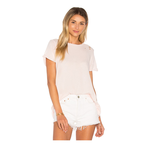 WILDFOX Simple Tee - Bad gals don't always wear all black. The Simple Tee is...