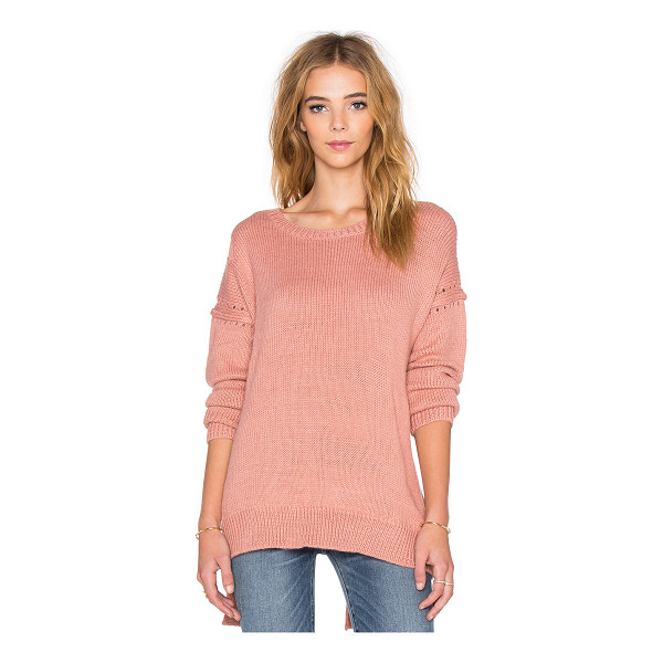 WILDFOX Solid sweater - 70% acrylic 15% nylon 8% wool 7% alpaca. Dry clean only....