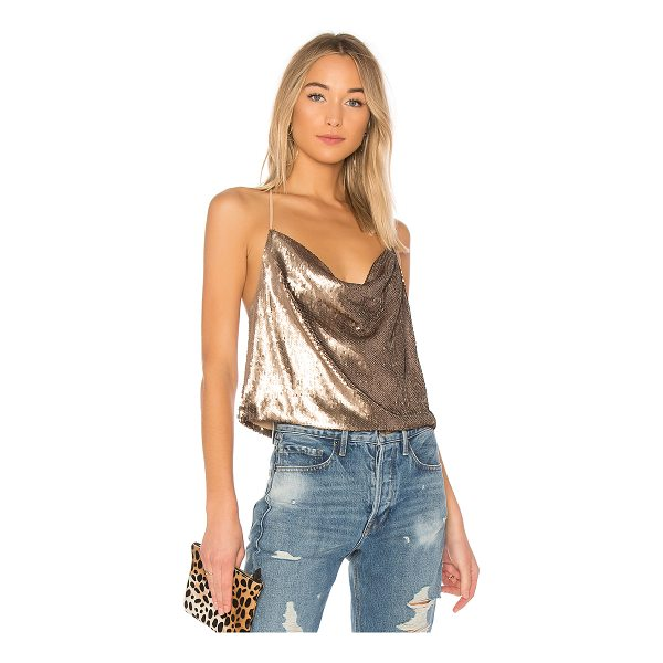 WYLDR Allure Sequin Cami - Sequins: 100% polyContrast: 100% poly. Hand wash cold....