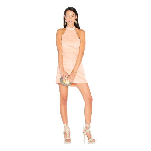 """WYLDR Infinity Dress - """"Poly blend. Dry clean only. Unlined. Back neck button..."""