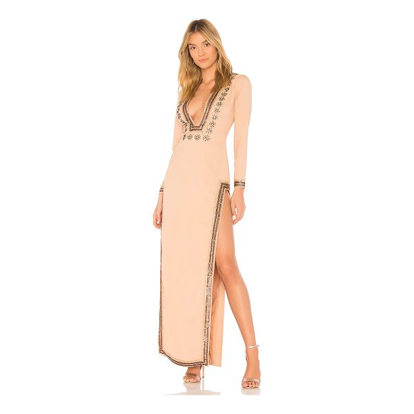X BY NBD Dasha Gown - From flower child to sophisticatedly boheme, X by NBD's...