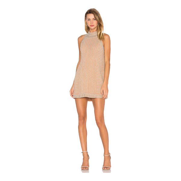 X BY NBD Rita Dress - Adorned with faux pearl embellishments and intricate...