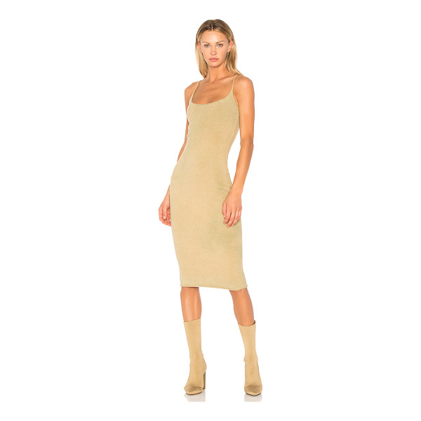 YEEZY SEASON 4 Season 4 Boucle Midi Dress - Become intoxicated by the rich boucle knit of this slinky...