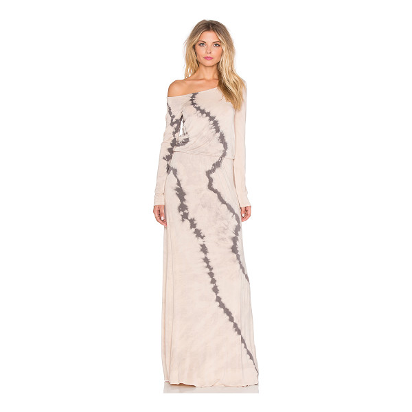 YOUNG FABULOUS & BROKE Lucia maxi dress - 92% modal 8% spandex. Hand wash cold. Unlined. YOUN-WD867....