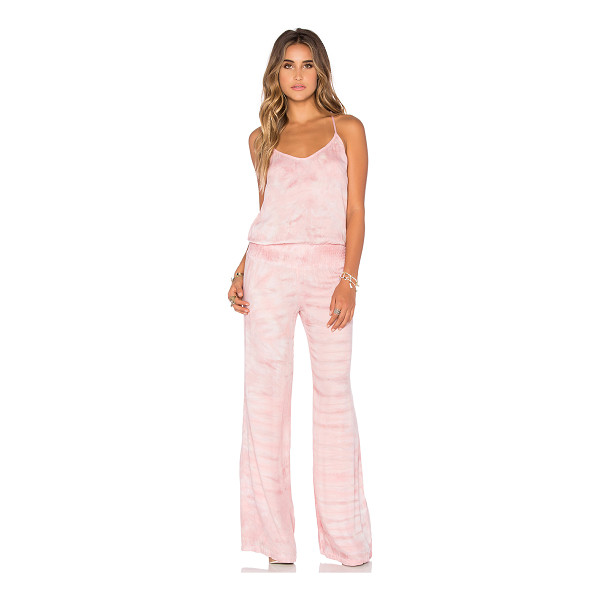 YOUNG FABULOUS & BROKE Macao jumpsuit - 100% rayon. Hand wash cold. Adjustable shoulder straps....