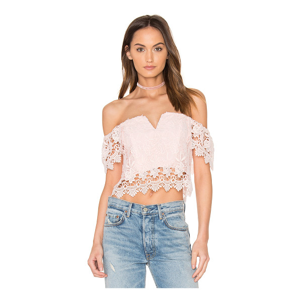 YUMI KIM Hot Stuff Crop Top - Self: 100% polyLining 97% poly 3% spandex. Dry clean only....