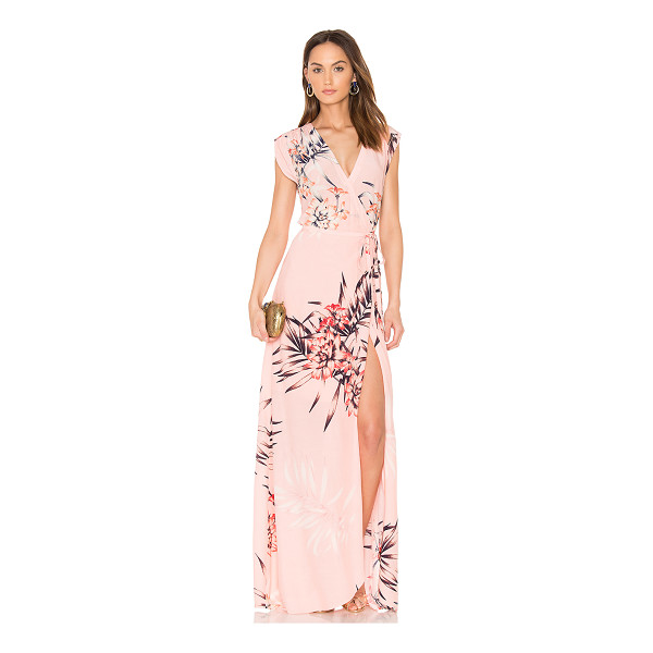 YUMI KIM Swept Away Maxi Dress - Rayon blend. Dry clean only. Partially lined. Wrap front...