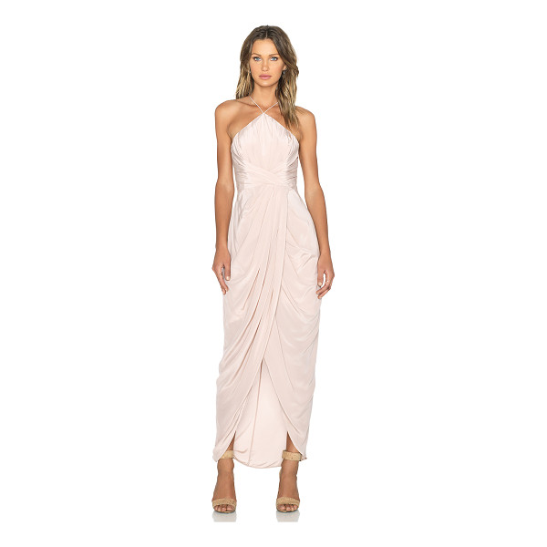 ZIMMERMANN Tuck maxi dress - Self: 100% silkLining: 100% poly. Dry clean only. Partially...