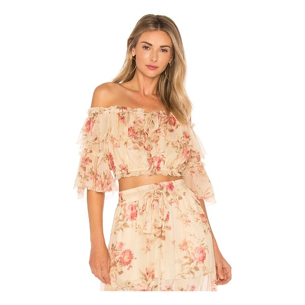 ZIMMERMANN X REVOLVE Prima Cherry Crop Top - Show off your sun-kissed glow with Zimmermann X REVOLVE?s...