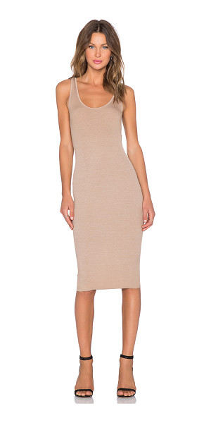 Enza Costa Silk Rib Tank Dress