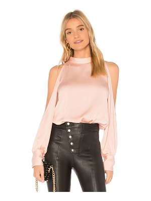 1. STATE Cold Shoulder Blouse