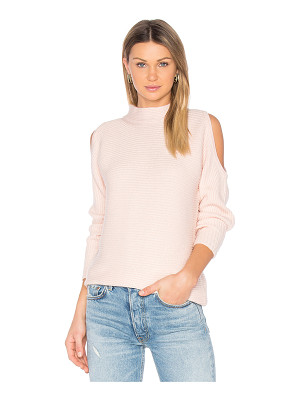 1. STATE Cold Shoulder Sweater