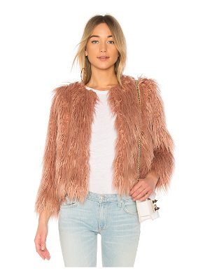 1. STATE Faux Fur Jacket