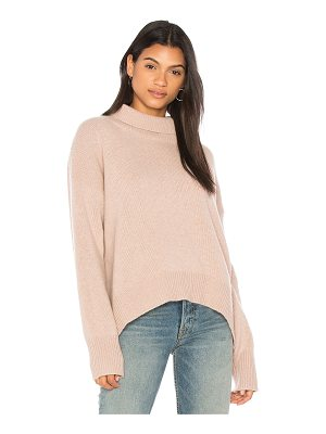 360CASHMERE Olive Turtleneck Sweater
