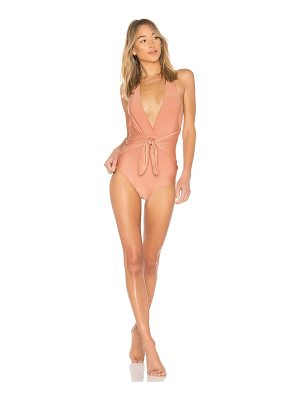 ADRIANA DEGREAS Halter Neck One Piece