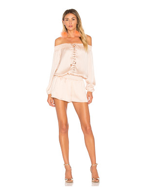 AIRLIE Portia Off The Shoulder Playsuit