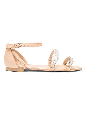 ale by alessandra Pressed Leather Feather Sandal