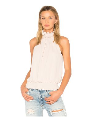 Amanda Uprichard Kimmie Mock Neck Top
