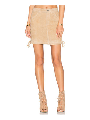 Anine Bing Lace Up Skirt