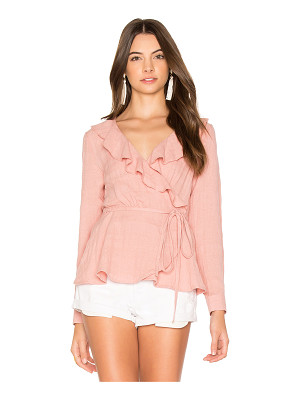 AUGUSTE Harvey Wrap Top