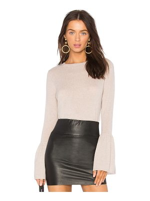 Autumn Cashmere crew long sleeve sweater