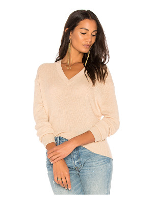 AUTUMN CASHMERE Ribbed Hi Lo Sweater