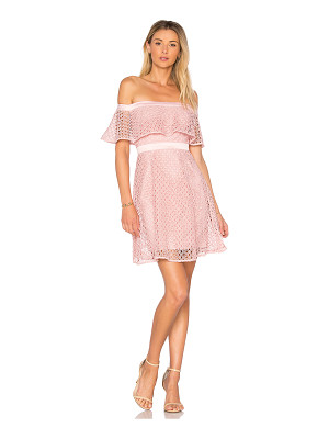 Bardot Off Shoulder Lace Dress
