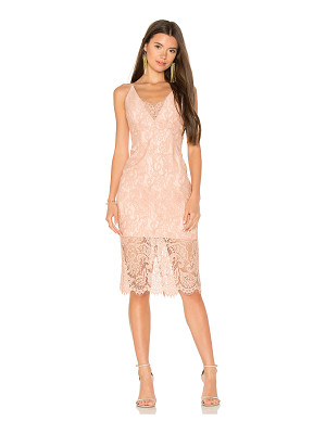 BARDOT Pencil Lace Midi Dress