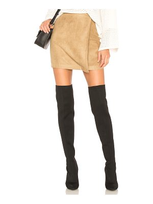 BCBGeneration A Line Faux Suede Skirt