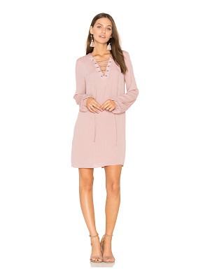 BCBGeneration Lace Up Dress