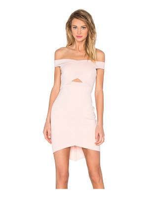 BEC&BRIDGE Desert of Paradise Off Shoulder Mini Dress