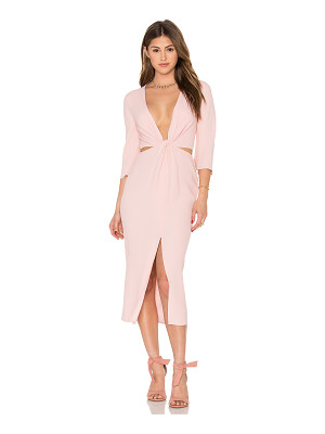 BEC & BRIDGE Slim Dusty Twist Dress